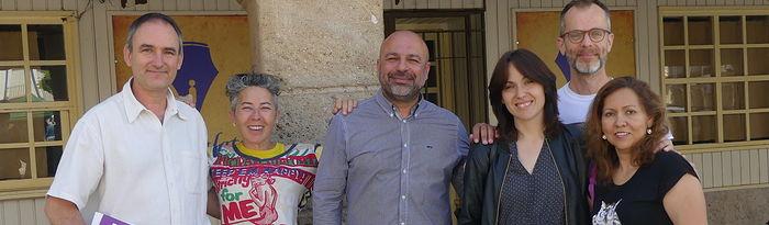 José García Molina en Ciudad Real.
