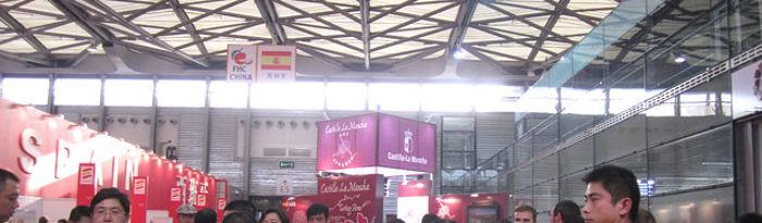 El Gobierno de Castilla-La Mancha, a través del Instituto de Promoción Exterior (IPEX), y la Fundación Castilla-La Mancha Tierra de Viñedos, han participado en la feria FOOD AND HOTEL en su catorceava edición, que se celebra en Shanghai, China, entre los días 10 al 12 de noviembre.
