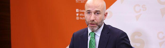 David Muñoz Zapata, diputado del Grupo Parlamentario Ciudadanos en las Cortes de Castilla-La Mancha.