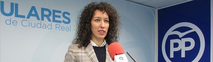 Cristina Molina, senadora. Foto: PP Ciudad Real.