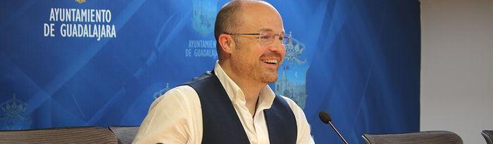 Alejandro Ruiz, portavoz Cs Ayuntamiento de Guadalajara.