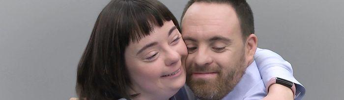 Tonet y Esther en la campaña Auténticos.