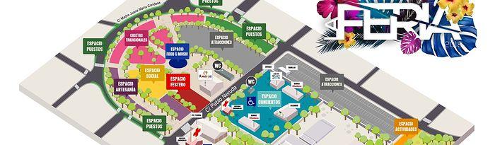 Presentado un nuevo plano que aglutina los diferentes espacios que recoge el Recinto Ferial de Almansa