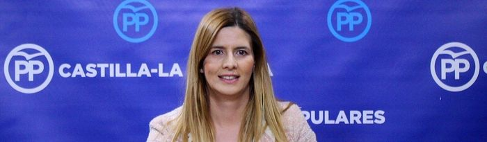 Carolina Agudo, secretaria general del PP de Castilla-La Mancha y diputada regional del GPP. Foto: PP CLM.