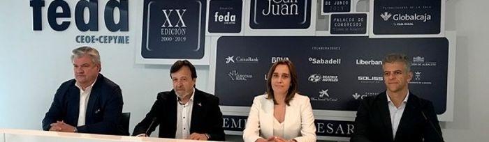 Presentación fallo jurado Premios San Juan 2019.