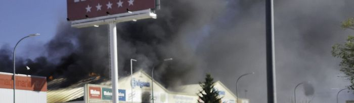 Incendio en la nave de Anigma.