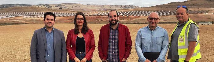 Visita planta fotovoltaica Alarcos.