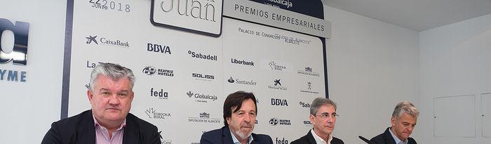 Presentación de los Premios Empresariales San Juan 2018 de FEDA