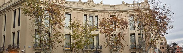 Oficina de Liberbank en la Plaza de Gabriel Lodares en Albacete