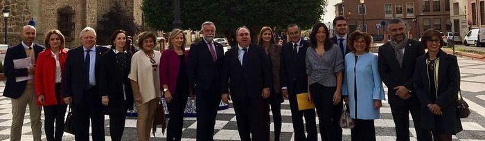 Acto conmemorativo del Día Internacional de la Eliminación de la Violencia contra la Mujer en Talavera de la Reina (Toledo).