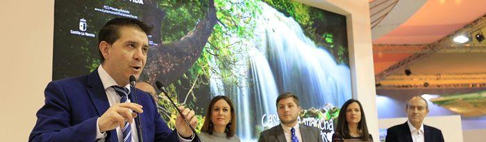 Santiago Cabañero abrió los actos programados para promocionar los recursos turísticos de la provincia