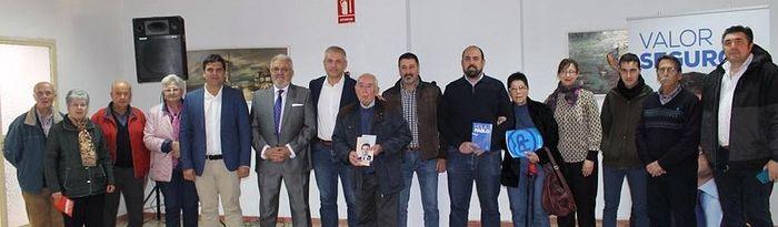 Presentación de las candidaturas del PP de Argamasilla de Calatrava.