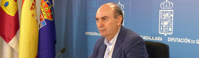 José Manuel Latre, presidente de la Diputación Provincial de Guadalajara
