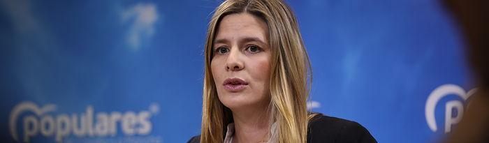Carolina Agudo, secretaria general del PP-CLM y senadora autonómica.