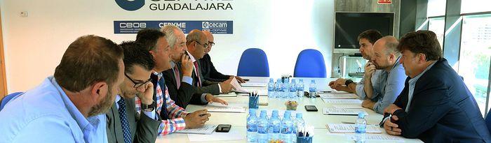 Reunión con Ciudadanos - CEOE CEPYME Guadalajara.