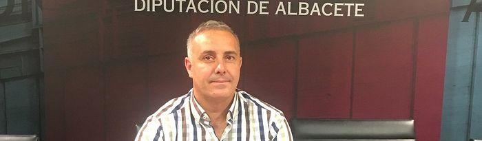 José Ignacio Diaz, portavoz de Unidas Podemos-IU en la Diputación de Albacete.