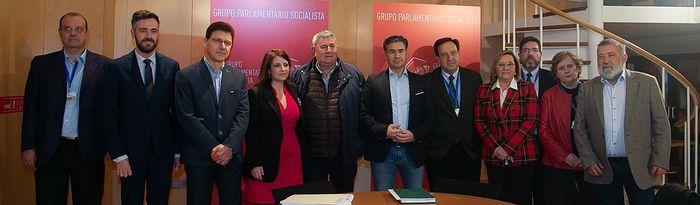 Reunión PSOE Albacete con ASAJA, COAG y UPA. Foto: POVEDANO