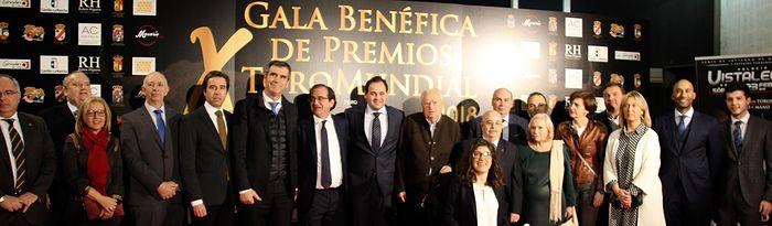 Paco Núñez ha participado en la X Gala Benéfica de Premios `ToroMundial 2018´