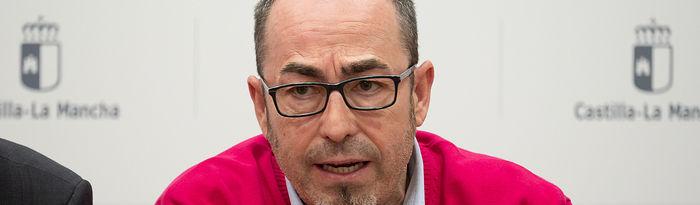 Paco de la Rosa, secretario general de Comisiones Obreras (CCOO) de Castilla-La Mancha