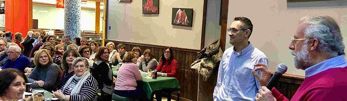 """El alcalde agradece a la asociación de vecinos su trabajo incondicional"""" para sacar adelante un proyecto """"que se encuentra muy avanzado"""". Foto: Ayuntamiento de Talavera de la Reina."""