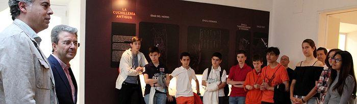 Recepción participantes Olimpiadas de Matemáticas de Castilla-La Mancha 2018.