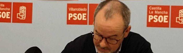 Alberto González, Secretario General del Partido Socialista y Candidato a la Alcaldía.