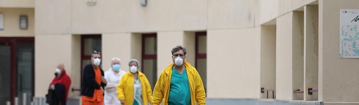 Coronavirus- Personal sanitario. Foto: Europa Press 2020