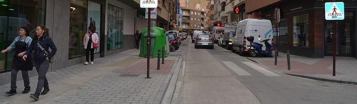 Calle Cristóbal Pérez Pastor, Albacete.