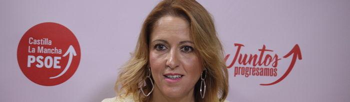 Cristina Maestre, portavoz PSOE CLM.