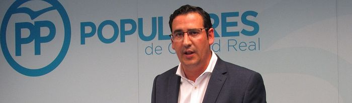 Manuel Borja, coordinador general del PP de Ciudad Real.
