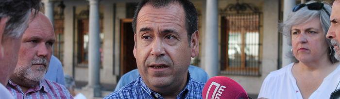 Juan Ramón Crespo, Coordinador Regional de Izquierda Unida de Castilla-La Mancha.