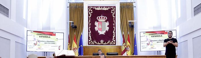 Acto Institucional por el Día de la Constitución. Foto: CARMEN TOLDOS