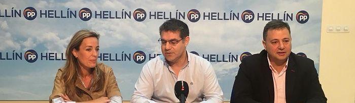 Presentación de la candidatura del PP en Hellín