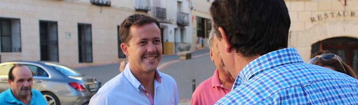Carlos Velázquez con los municipios ribereños