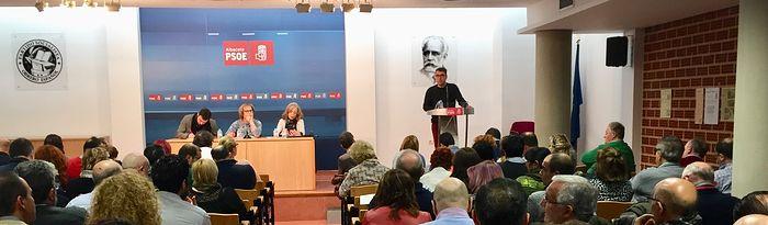 Asamblea de la Agrupación Local del PSOE de Albacete