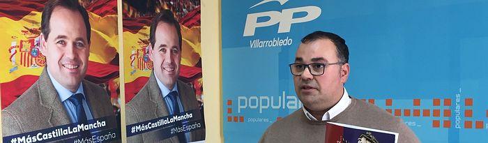 Bernardo Ortega, secretario general del PP de Villarrobledo.