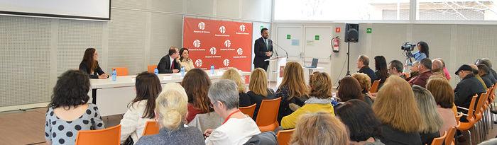 Imagen de archivo del acto de clausura de la primera edición del programa 'Garantía +55'. Foto: Álvaro Díaz Villamil / Ayuntamiento de Azuqueca