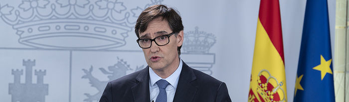 Salvador Illa, ministro de Sanidad. Pool Moncloa/Borja Puig de la Bellacasa.