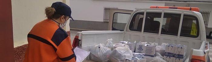 Mota del Cuervo pone en marcha un banco de aprovisionamientos para proteger a la población más vulnerable .