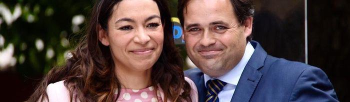 Paco Núñez y Claudia Alonso.