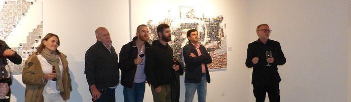 Daniel Garbade en su exposición.