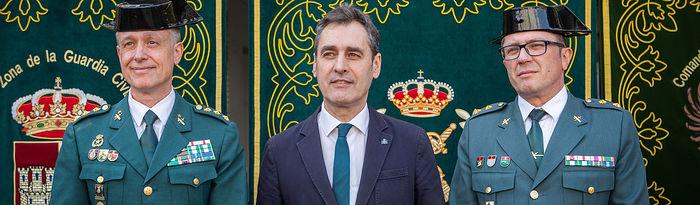 Francisco Javier Vélez, nuevo jefe de la Comandancia de la Guardia Civil de Toledo.