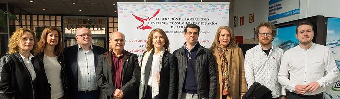 Asamblea General Ordinaria de la Federación de Asociaciones de Vecinos (FAVA) de Albacete.