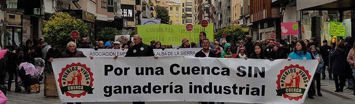 """Pueblos Vivos Cuenca vuelve a decir """"NO"""" a las macrogranjas."""