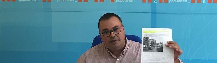 Bernardo Ortega, portavoz Municipal del Grupo Popular en el Ayuntamiento de Villarrobledo.
