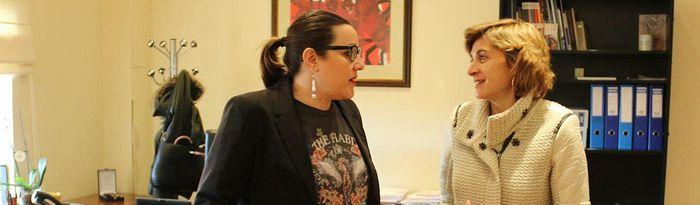 María Diaz ha mantenido un encuentro con miembros de la Comisión Redactora del Estatuto de Informativos del ente público de Radio Televisión Castilla-La Mancha