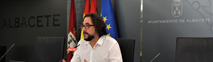 Juanjo Segura, concejal del Grupo Municipal Socialista en el Ayuntamiento de Albacete.