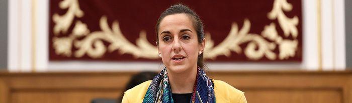 María Roldán, diputada regional del Grupo Parlamentario Popular en las Cortes de Castilla-La Mancha.