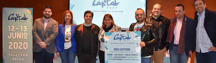 Presentación Capital Fest.