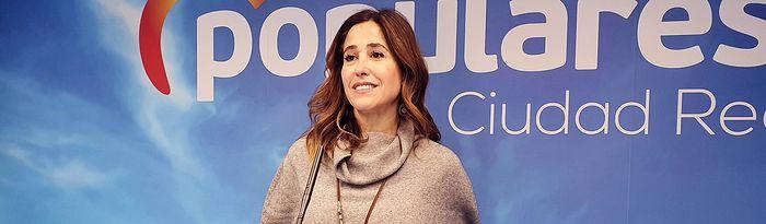 Rosa Romero, diputada nacional del Partido Popular por la provincia de Ciudad Real.